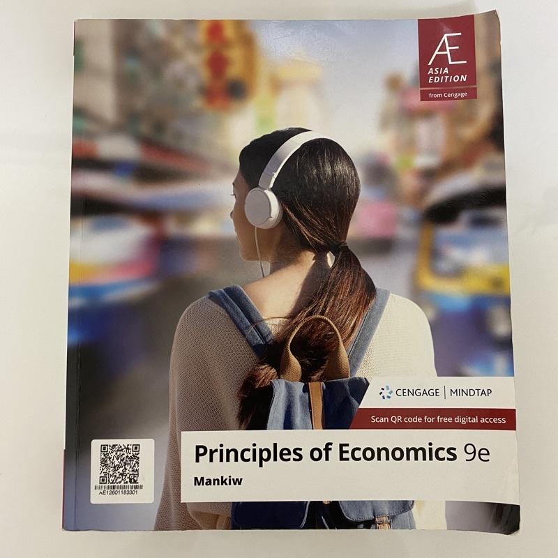 PRINCIPLES OF ECONOMICS 9e MANKIW 二手