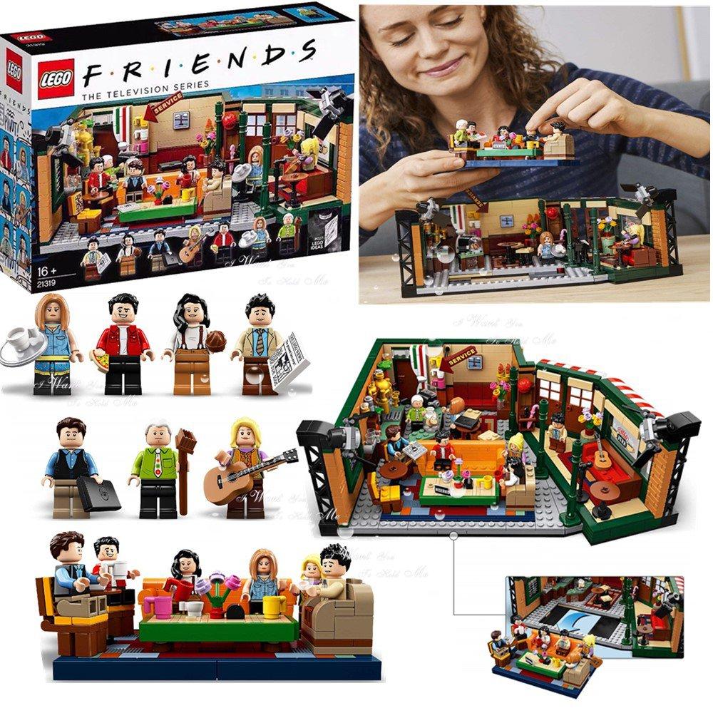 LEGO樂高 21319 老友記中央公園咖啡館 男女孩子拼裝積木玩具禮物