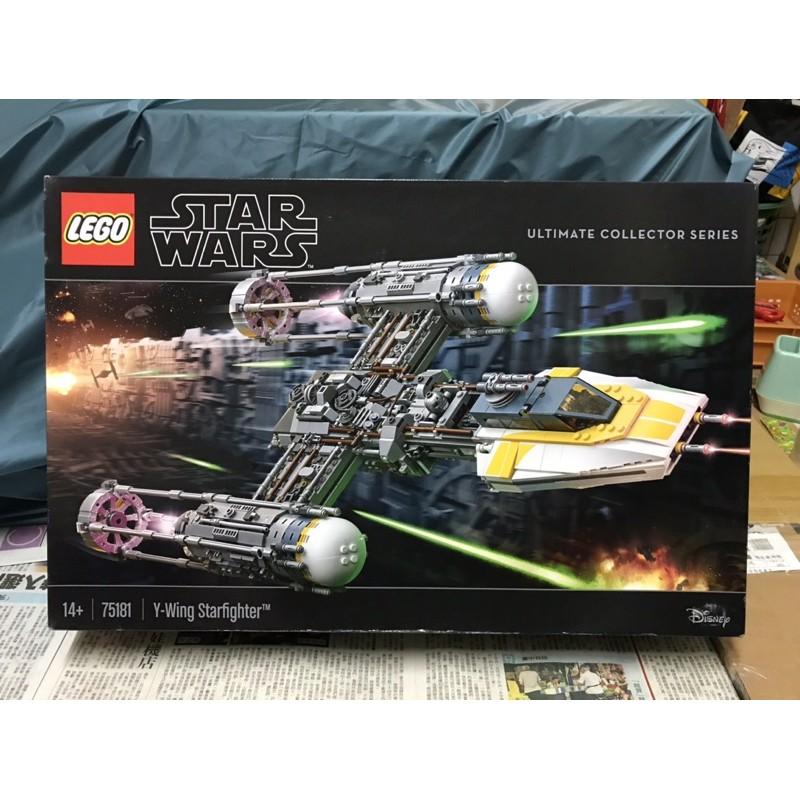 LEGO 75181 StarWars Y-Wing Starfighter UCS 星際大戰  Y-翼星際戰機