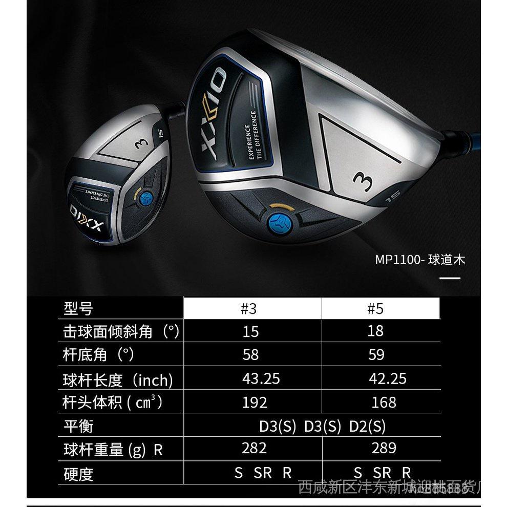 【限量好貨手慢無!】⭐200XXIO XX10高爾夫球杆MP1100系列套杆男士杆全套2020新款日本進口