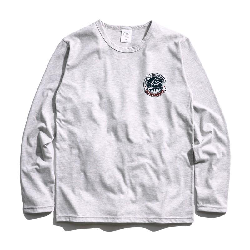 ONE DAY 台灣製 884C100 薄長素T 素長T 長T 男生長袖T恤 大學T恤 男生T恤 T恤 大學T