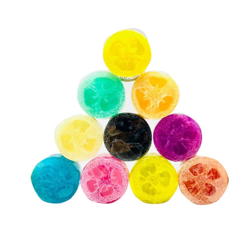絲瓜絡去角質皂 絲瓜皂 100g 冷皂 花蓮製造 印象花蓮