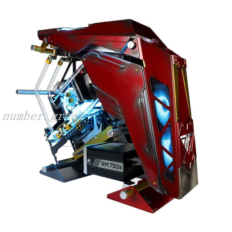 下殺☆FUXK 定制鋼鐵俠主機 i9-10900K/RTX 3090/3080 水冷 電腦 臺式機