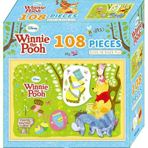 Disney 迪士尼小熊維尼108片盒裝拼圖(A) 玩具反斗城