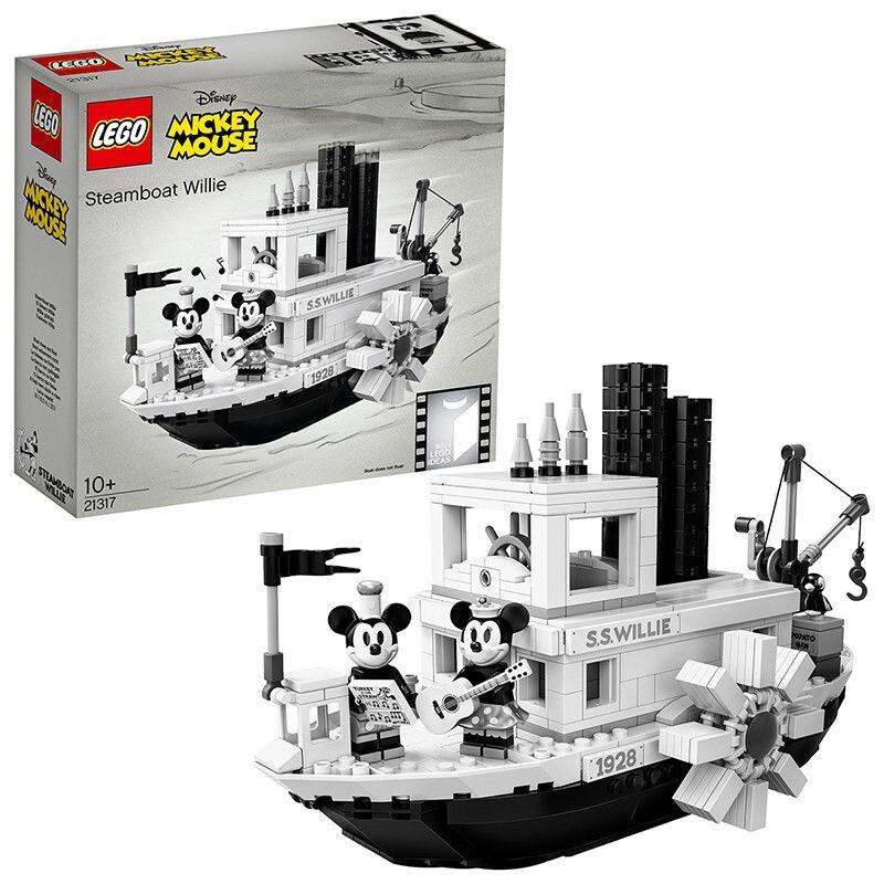 ☆免運→樂高(LEGO)積木 21317米奇米妮汽船威利號汽船