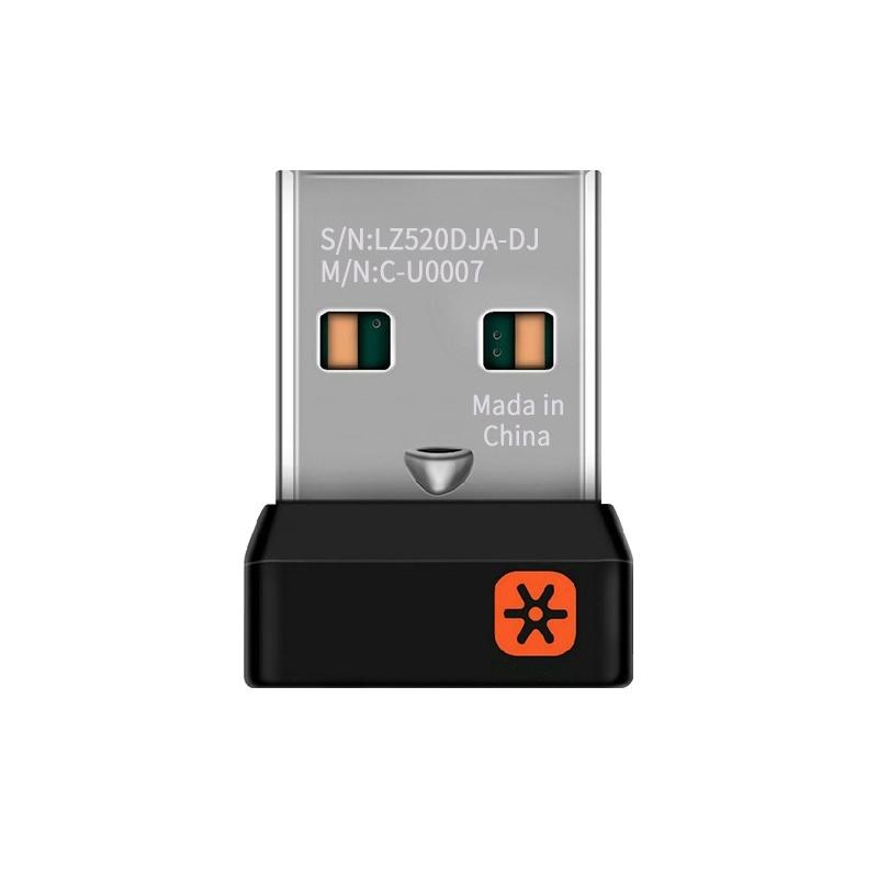 【即到即用】羅技USB優聯無線滑鼠鍵盤接收器/外置藍牙4.0轉接器臺式筆記型電腦滑鼠耳機音箱
