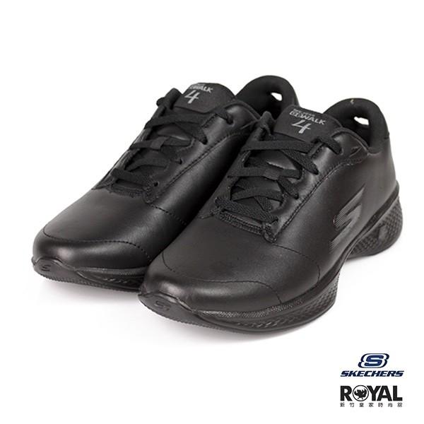 Skechers Go Walk 黑色 皮質 健走 舒適 休閒鞋 女款 NO.I9527 廠商直送 現貨