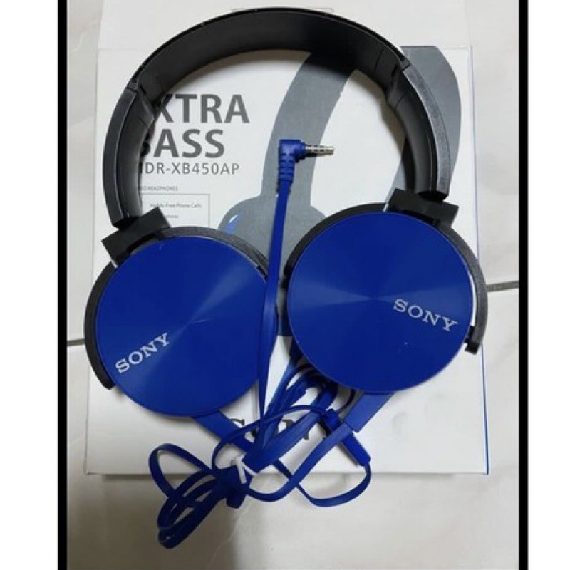 EXTRA BASS 重低音 SONY MDR-XB450AP