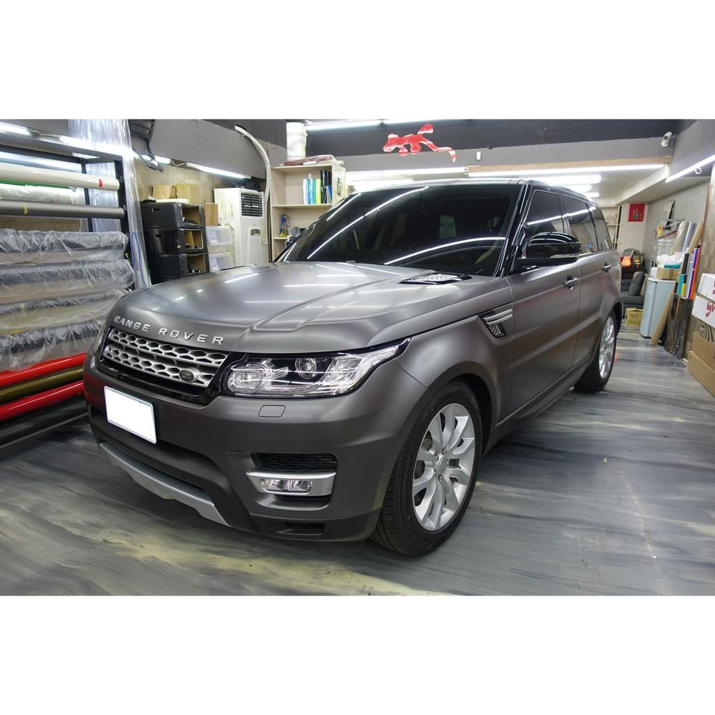 秀卡司汽車包膜 路虎 Range Rover Sport SDV6  全車包膜改色 (3M 1080 S261絲綢灰色)