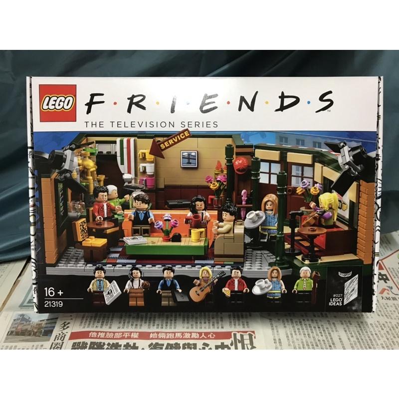 LEGO 21319  中央公園咖啡館 六人行  IDEAS 系列