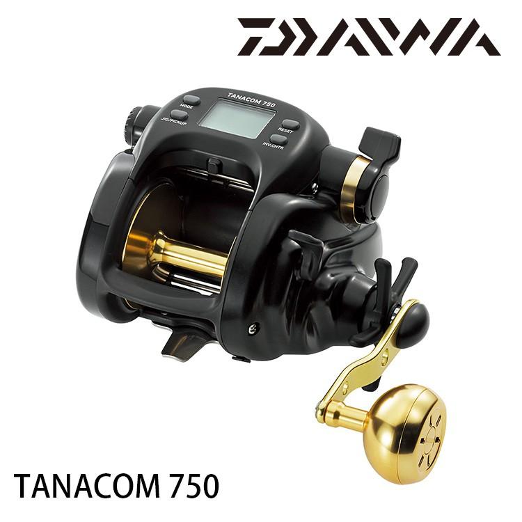 DAIWA TANACOM 750 日本版 [漁拓釣具] [電動捲線器][金色手把]