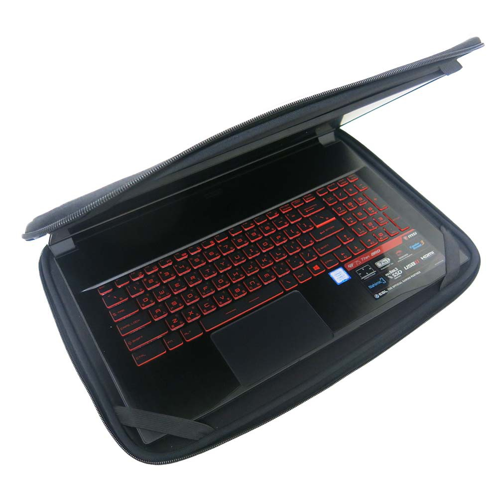 【Ezstick】MSI GF75 8RD 8RC 9SC 9RCX 17吋寬 通用型 NB 筆電防震包