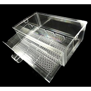 上部 過濾 滴流盒 長*寬*高=30*17.5*7cm 抽屜式滴流盒 透明壓克力 1.5尺 2尺 3尺 4尺 5尺 6尺 臺南市