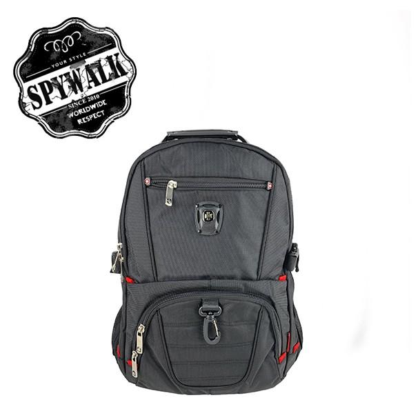 SPYWALK 超大容量實用後背包多功能後背包NO S7174-1 附USB充電孔