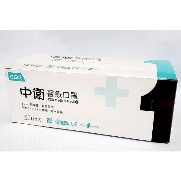 [中衛]醫療成人平面口罩【藍、粉、綠】