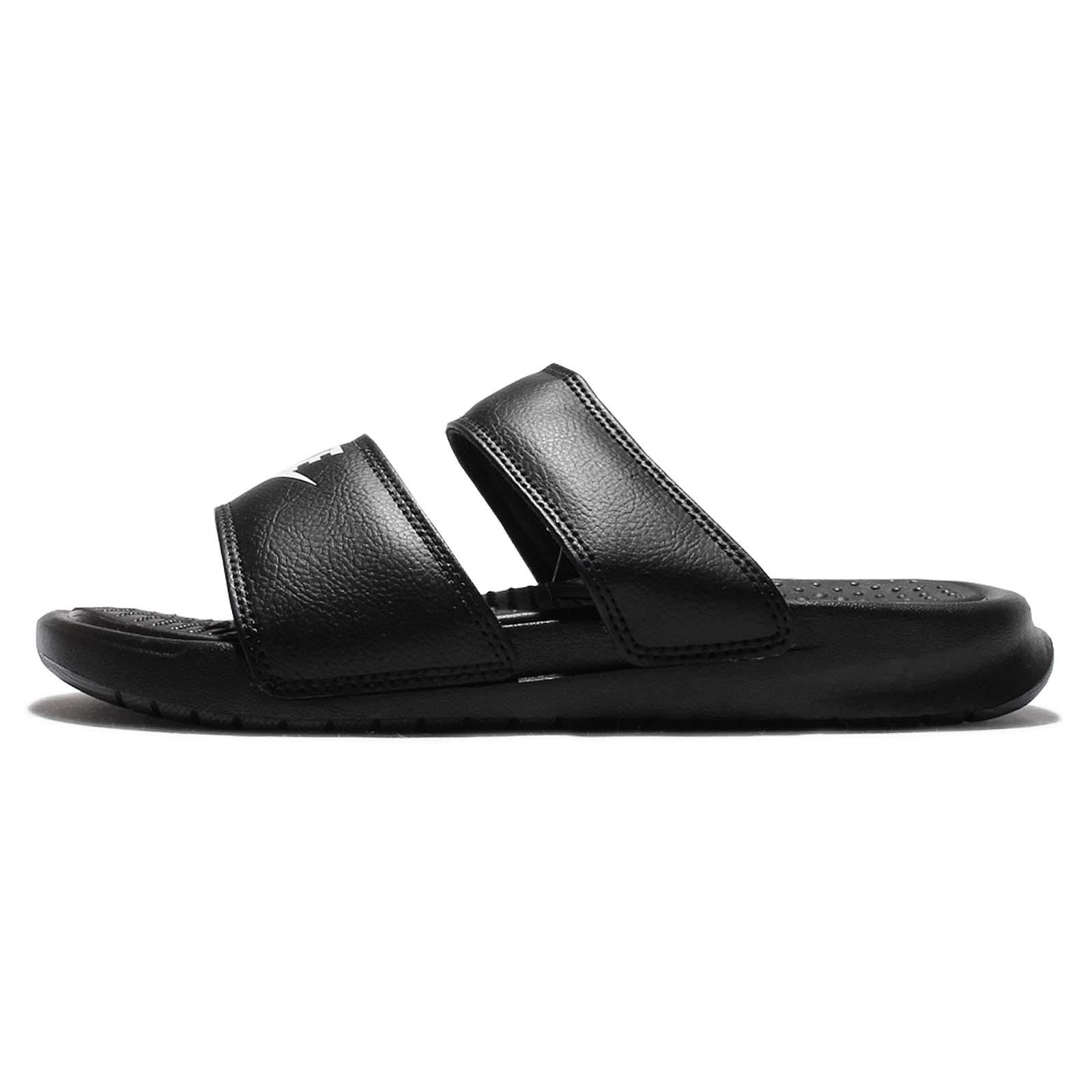 Nike 拖鞋 Benassi Duo Ultra Slide 黑 白 女鞋 涼拖鞋 【ACS】 819717-010