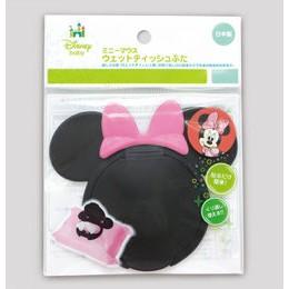 日本 迪士尼重覆黏濕紙巾專用盒蓋 (米奇/ 米妮)