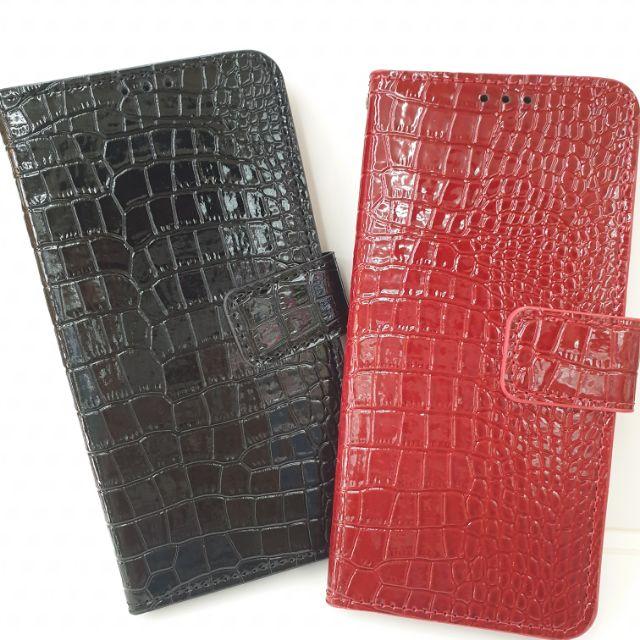 【手機殼】正韓 鱷魚 紋路 皮套  i11 pro max /Note10+ /S20/S10 可放卡 磁扣 亮面 質感