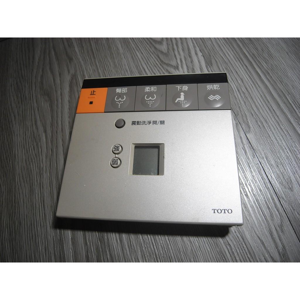 二手 日本原裝 TOTO TCF491CS 免治電腦馬桶座 自動感應無線遙控器 壁掛遙控器