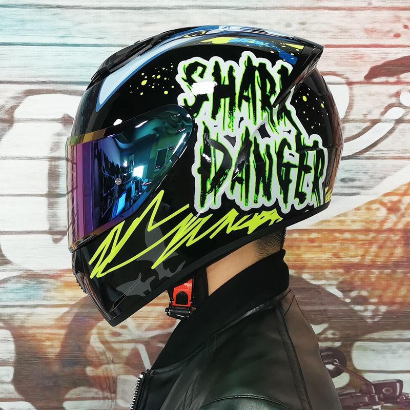 騎士帽機車安全帽ORZ機車頭盔男女夏季全盔個性跑盔新款電瓶車頭灰四季通用a頭盔現貨