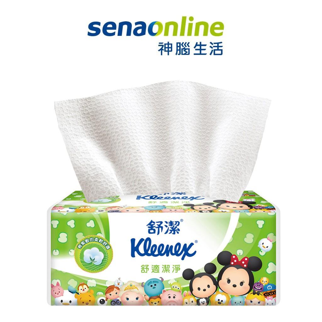 舒潔迪士尼舒適潔淨抽取衛生紙 Tsum Tsum限定版100抽x72包/箱