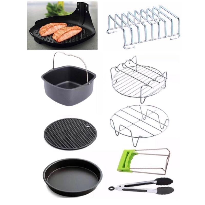 飛利浦專用氣炸鍋配件 檢驗合格 超值8件組 煎魚盤 烘烤鍋HD9925 9220 9642