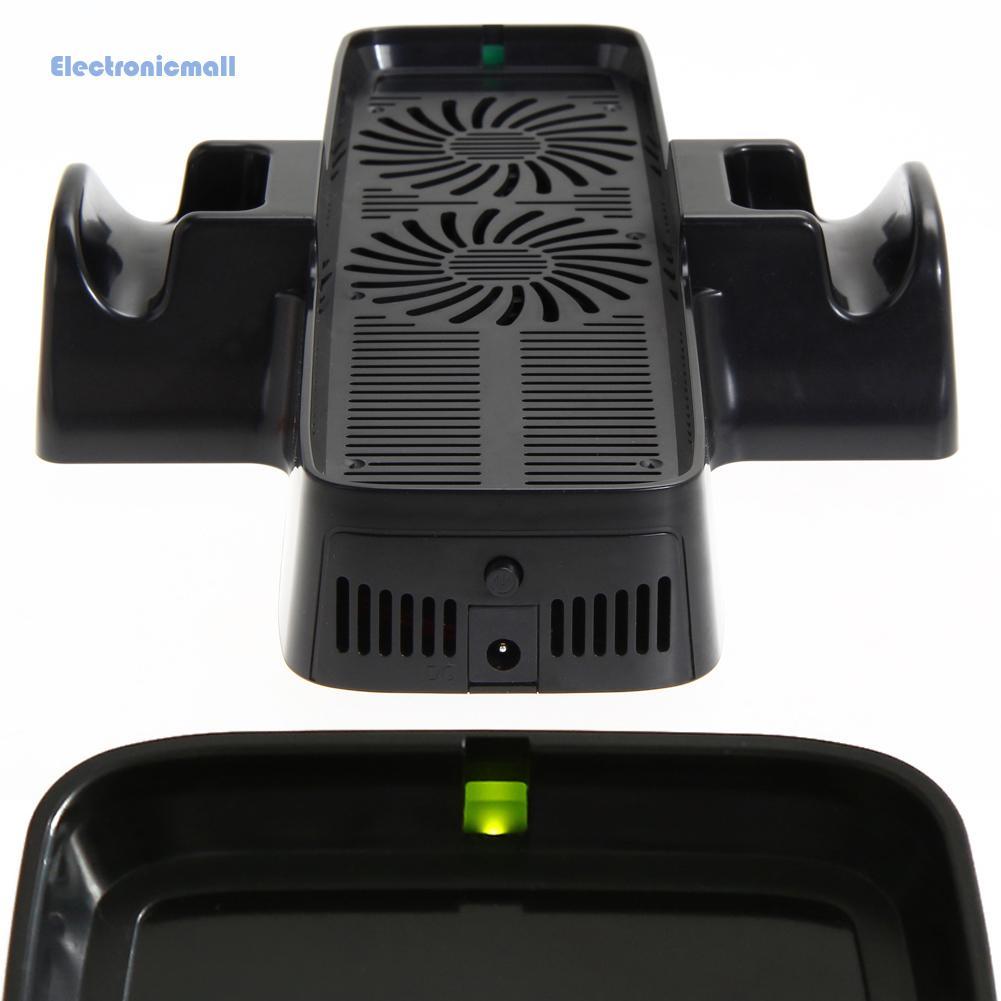 ElectronicMall01 XBOX360主機扇熱風扇 360 slim風扇 游戲配件 360主機支架