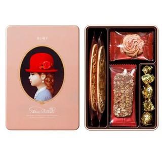 紅帽子 小禮盒 Elegant 曲奇餅乾 雅緻粉 小粉紅帽禮盒 無提袋 高雄市