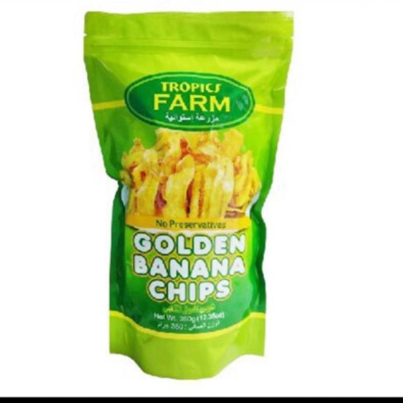 菲律賓🇵🇭TROPICS FARM GOLDEN Banana Chips香蕉脆片