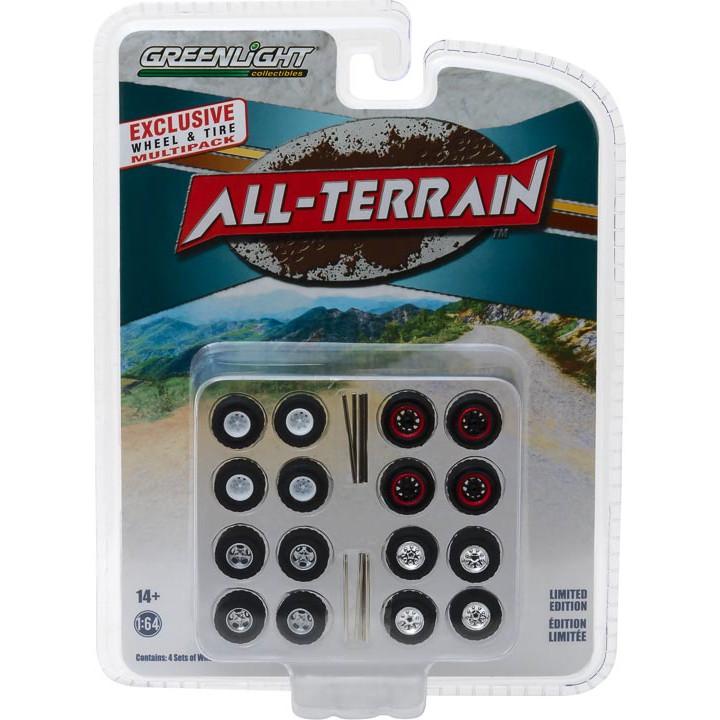 GREENLIGHT 1/64 All-Terrain 輪胎