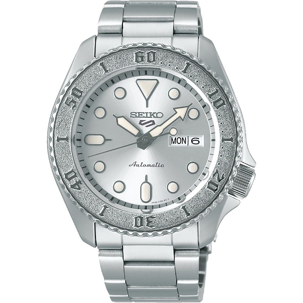 【SEIKO精工】 5 Sports 鋼錶帶 機械潛水錶 SRPE71K1 銀水鬼 4R36-08E0S 臺南時代鐘錶