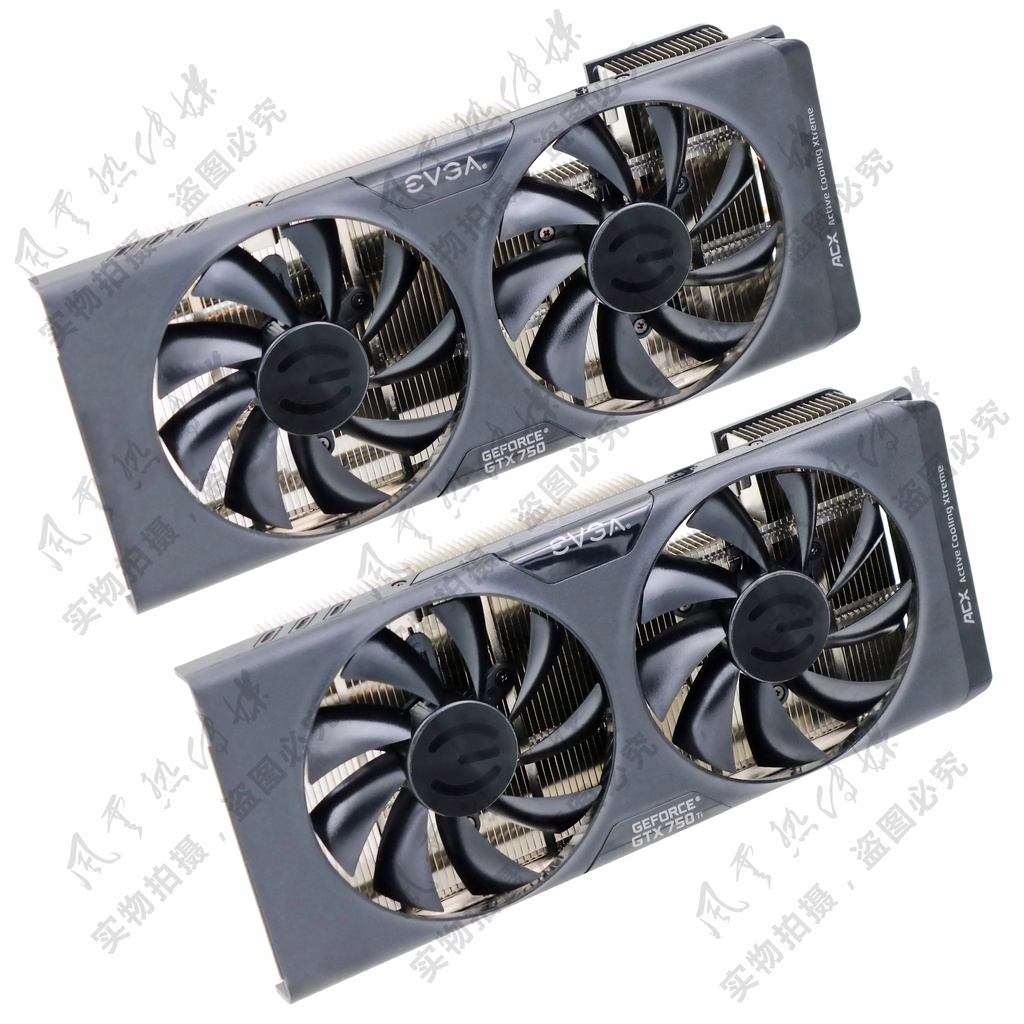 #熱銷EVGA GTX750/GTX750Ti ACX 顯卡散熱器 43x43mm安裝孔位