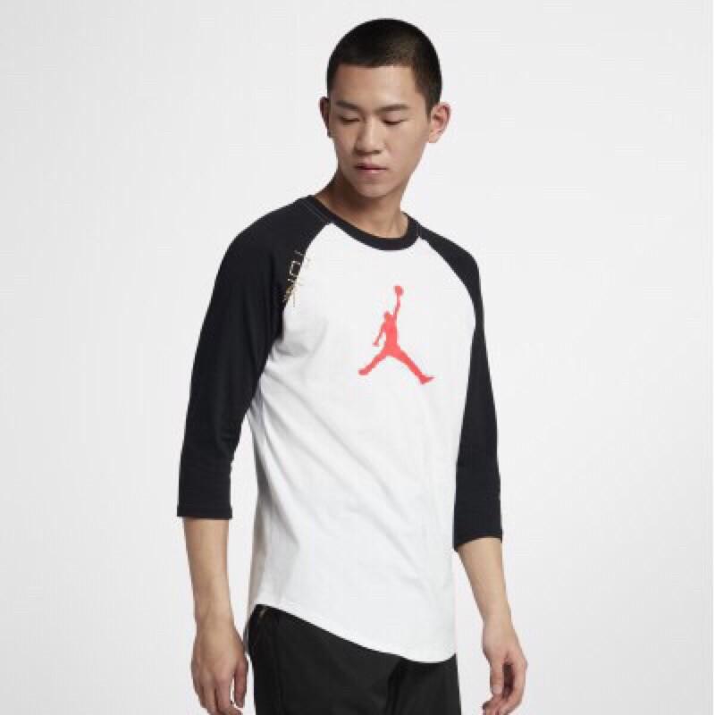 Nike Jordan CNY 乙亥年 男子  棒球七分袖 CD9053-100