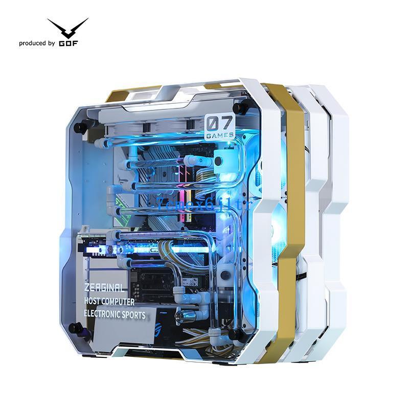 GOF工蜂i9 10900K/華碩RTX3080/3090分體水冷電腦主機ROG玩家國度