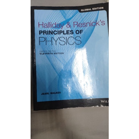 二手 最新版 Halliday Principles of Physics 11E 9781119454014