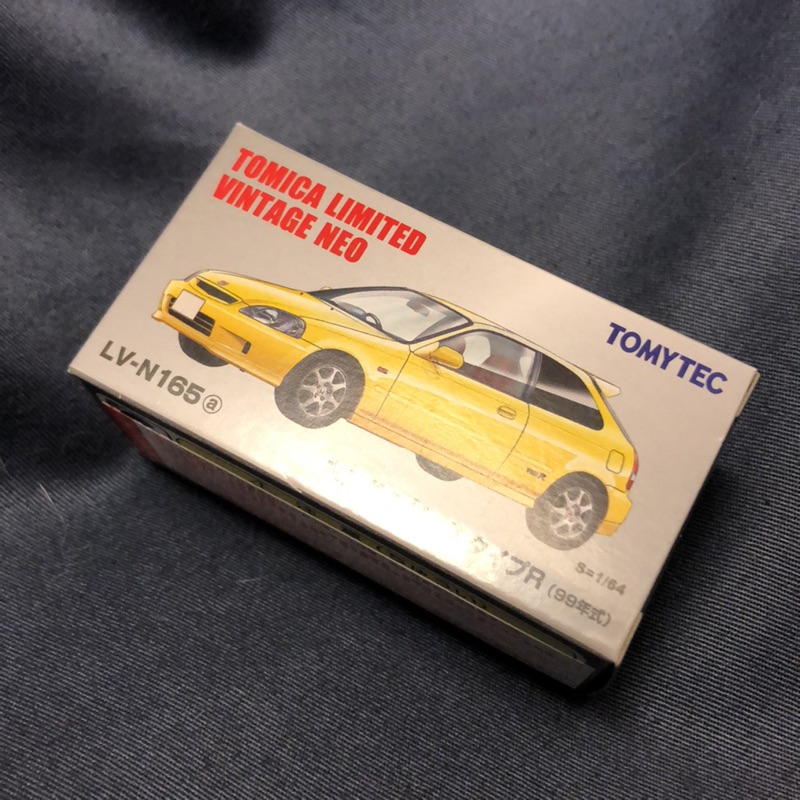 Tomica Civic Tomytec EK9 本田 黃色 typeR Honda Civic