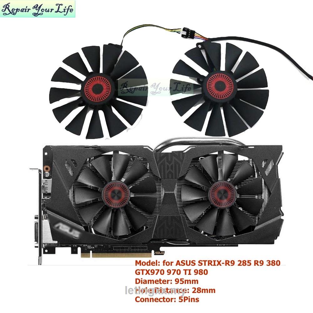 華碩 Gtx970 970 Ti 980 780 Strix-R9 285 380 Pld10015s12h Fd100