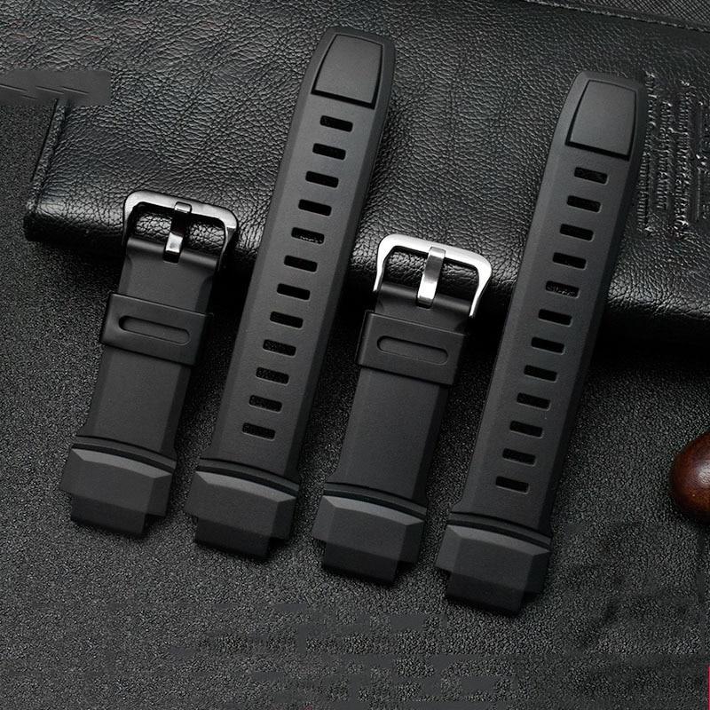 卡西歐 PRG-260 / 250 / PRG500 PRW-3500 / 2500 / 5100 18mm 防水矽膠錶
