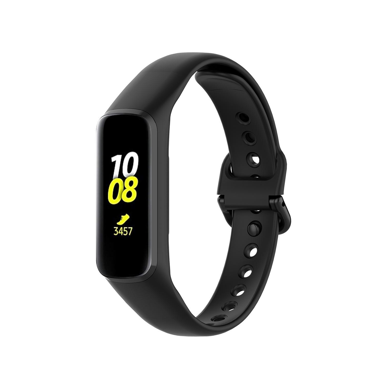 適用三星Galaxy Fit2 SM-R220手環矽膠錶帶 防水 透氣扣式運動錶帶 替換腕帶 galaxy fit2表帶