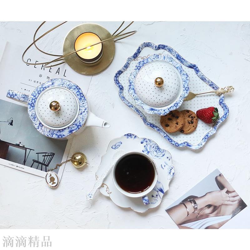 荷蘭 Pip studio Royal White 皇傢藍白 糖奶罐/茶盤