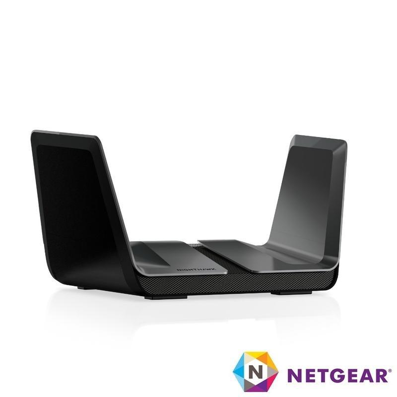 NETGEAR RAX80 夜鷹 AX6000 8串流 WiFi pc99智能無線寬頻分享器 路由器