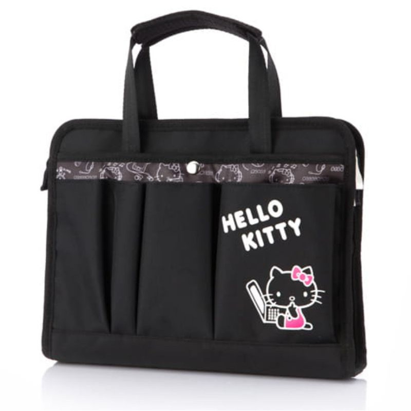 (二手) Hello Kitty 小筆電包 公事包 (10-11吋)