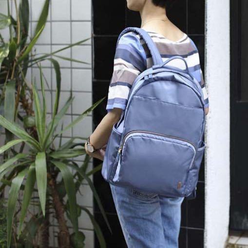 ☆SUMDEX☆人體工學設計 高級後背包 網路最低價 經典 商務 後背包 都會 時尚 平板包 筆電包 783BU 藍色