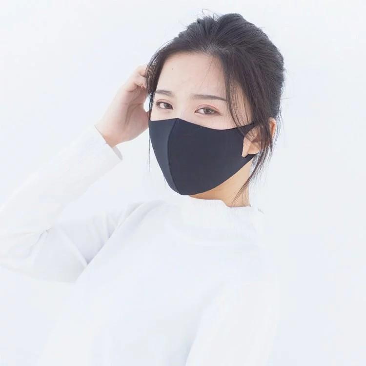 舒適美 3D立體透氣口罩 台灣製造 (現貨,黑色S/M) 可水洗,透氣、服貼、好看 適合夏天