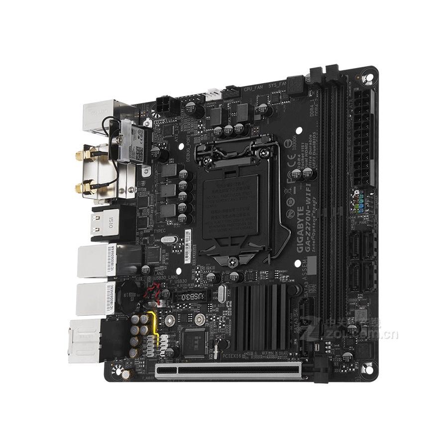 庫存沒上過機Gigabyte/技嘉Z270N-WIFI 1151主機板ITX含天線