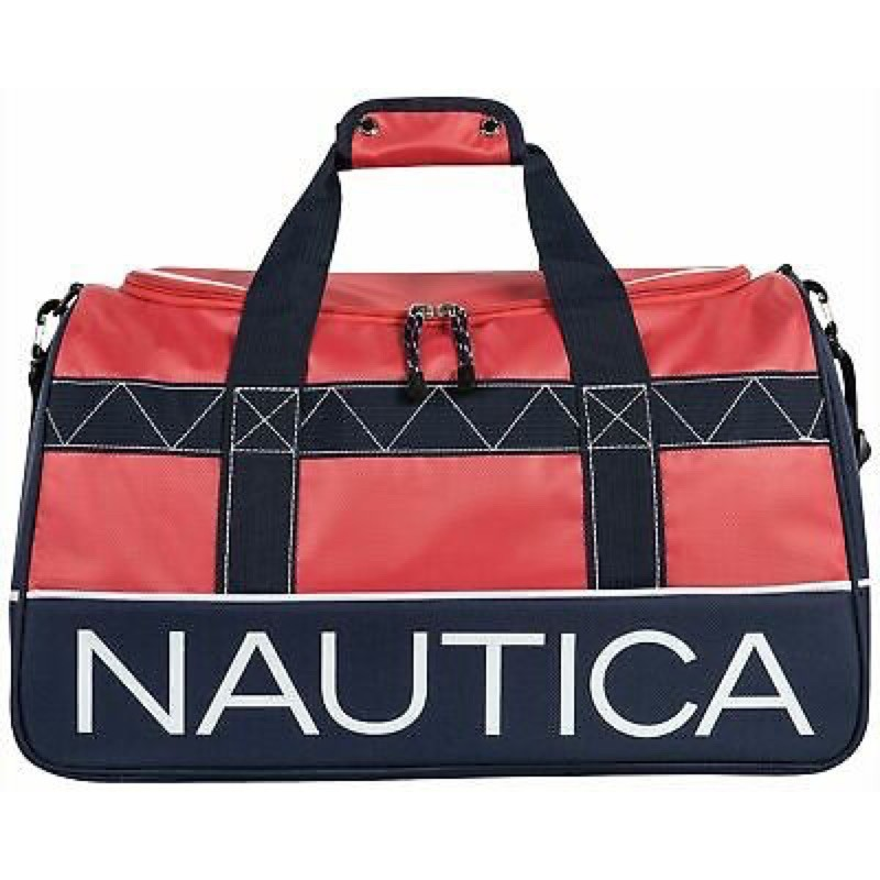 [二手]Nautica 網球包 高爾夫球包 側背包22 dockside duffel bag