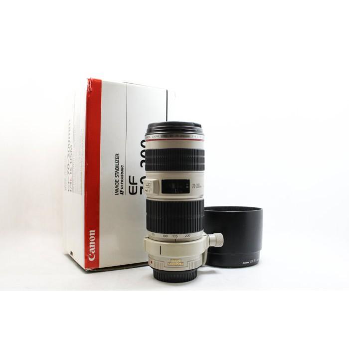 【高雄青蘋果3C】CANON EF 70-200MM F4 L IS USM UA鏡 望遠 二手鏡頭 #22997