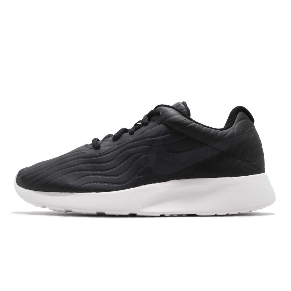 Nike 慢跑鞋 Tanjun PREM 黑 白 紋路鞋面 運動鞋 女鞋 917537-008 【ACS】