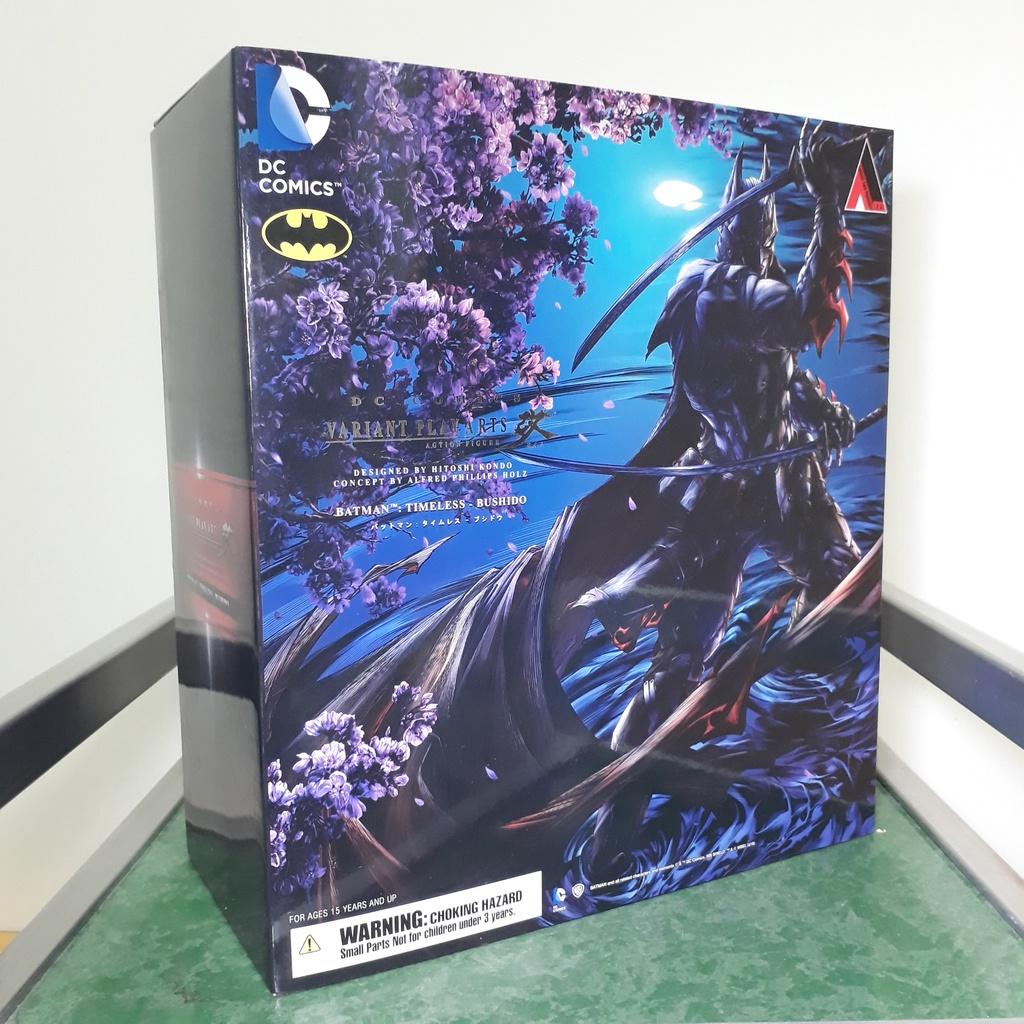 代理版 已拆 PLAY ARTS改 DC 蝙蝠俠 永恆 武士道 超時空的神秘武士