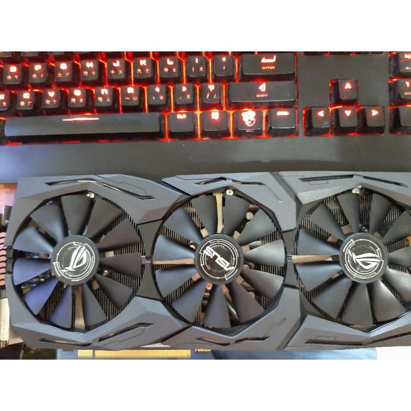 最便宜保內ROG STRIX GTX1070 O8G頂規卡 二手良品 GTX 1070 1070ti GTX1080